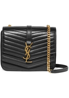 Saint Laurent Sulpice Small Quilted Leather Shoulder Bag