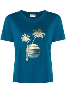 Saint Laurent sunset print T-shirt