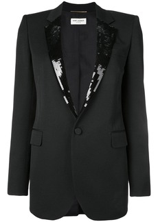 Saint Laurent tailored wool blazer