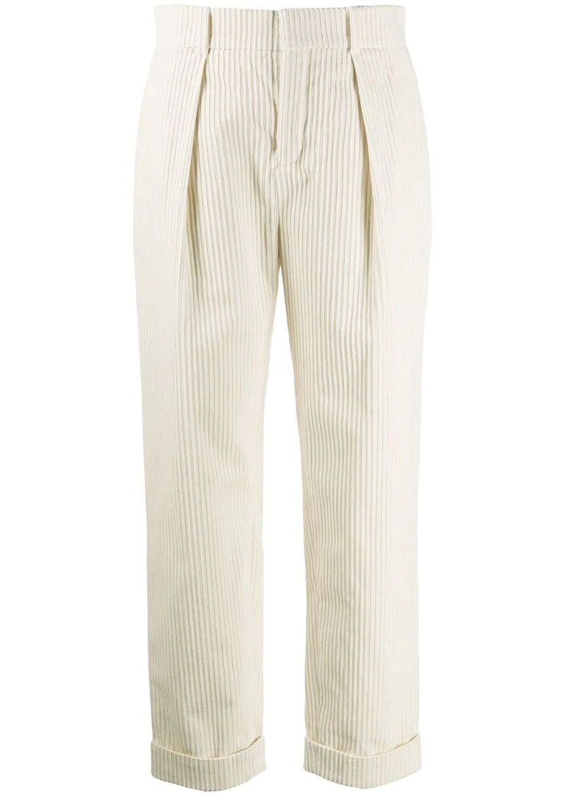 Saint Laurent tapered corduroy trousers