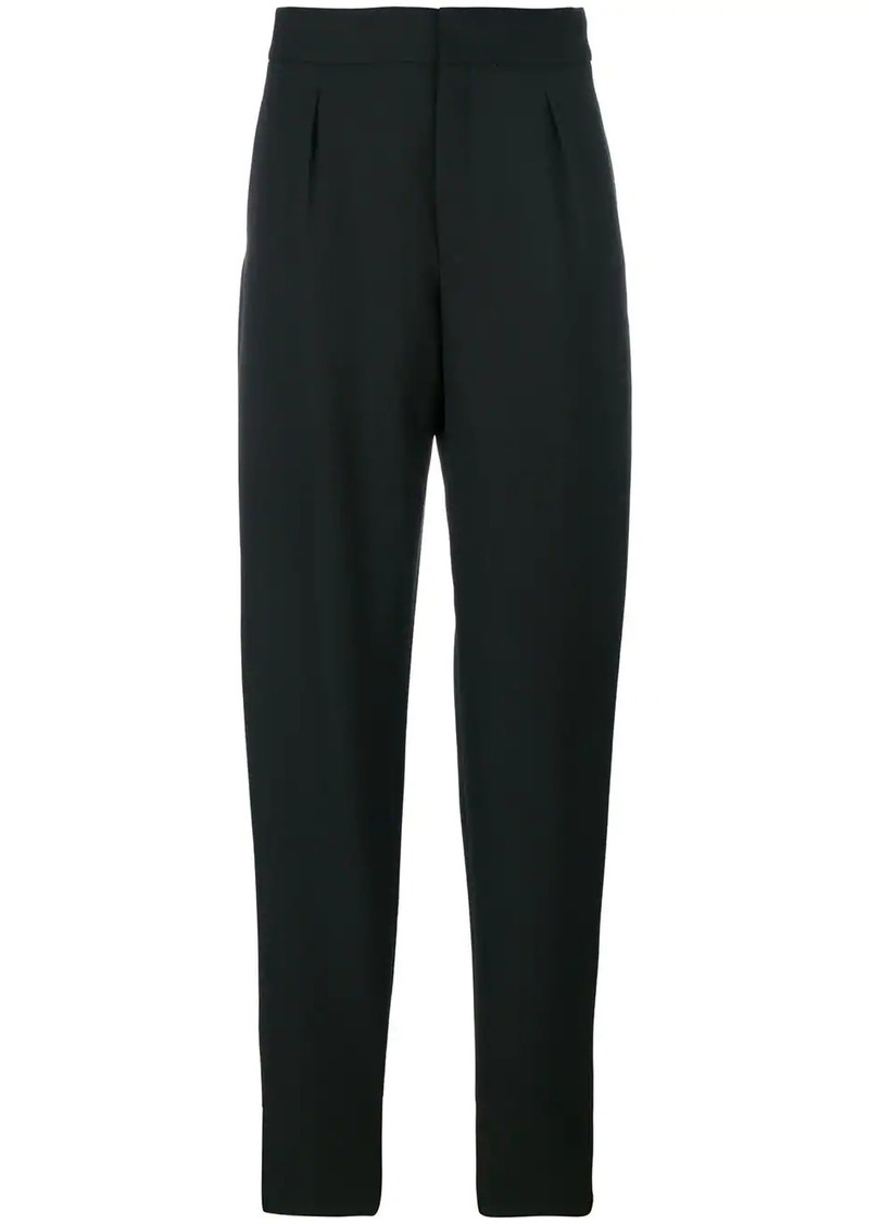 Saint Laurent tapered high waist trousers