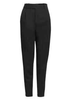 Saint Laurent Tapered Virgin Wool Trousers