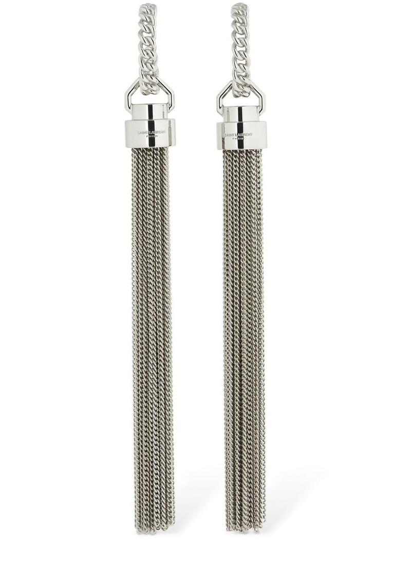 Saint Laurent Tassel Earrings