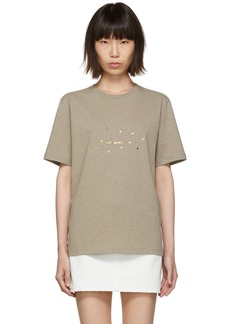 Saint Laurent Taupe Stars T-Shirt