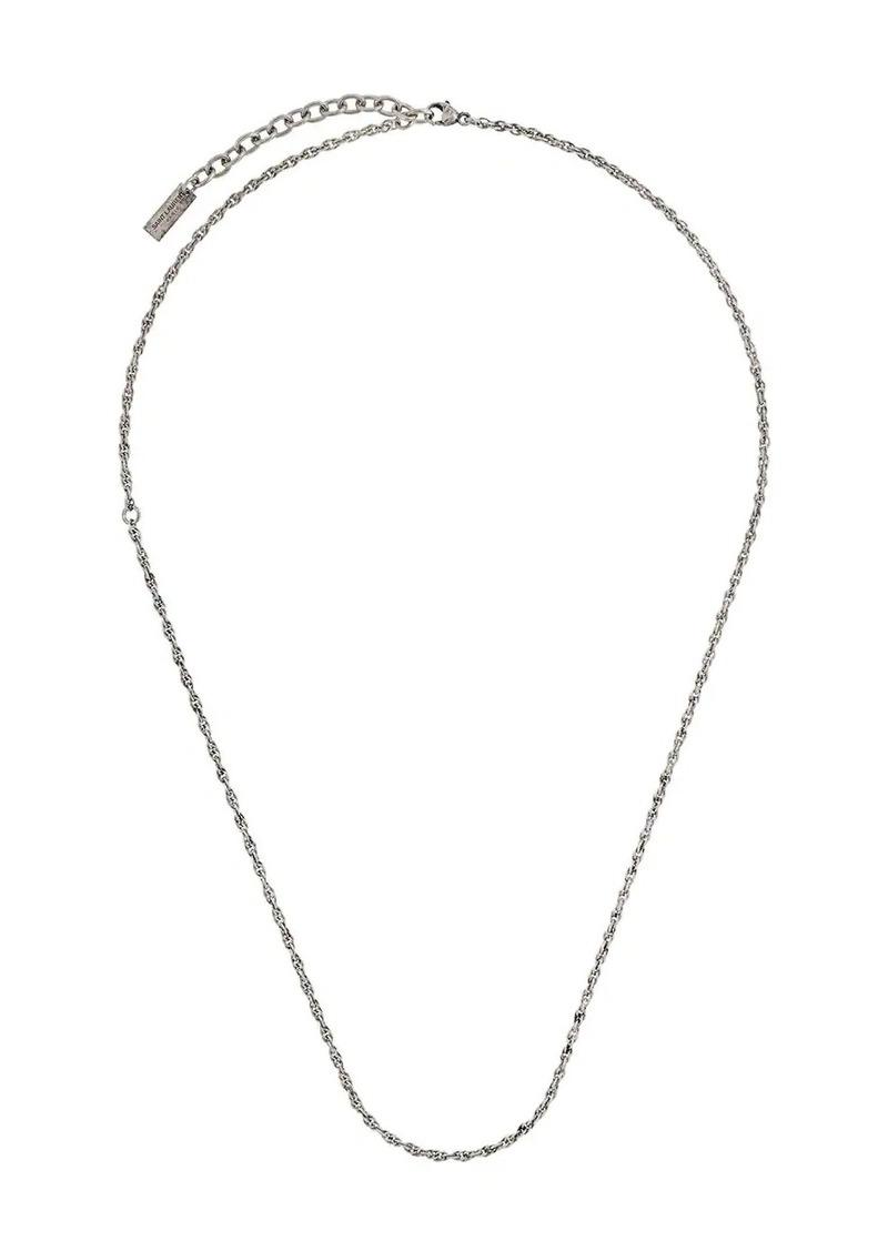 Saint Laurent thin byzantine necklace