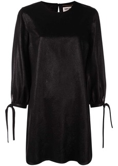 Saint Laurent tie sleeve shift dress