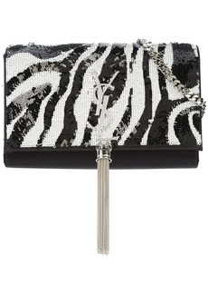 Saint Laurent Tiger Kate tassel chain wallet