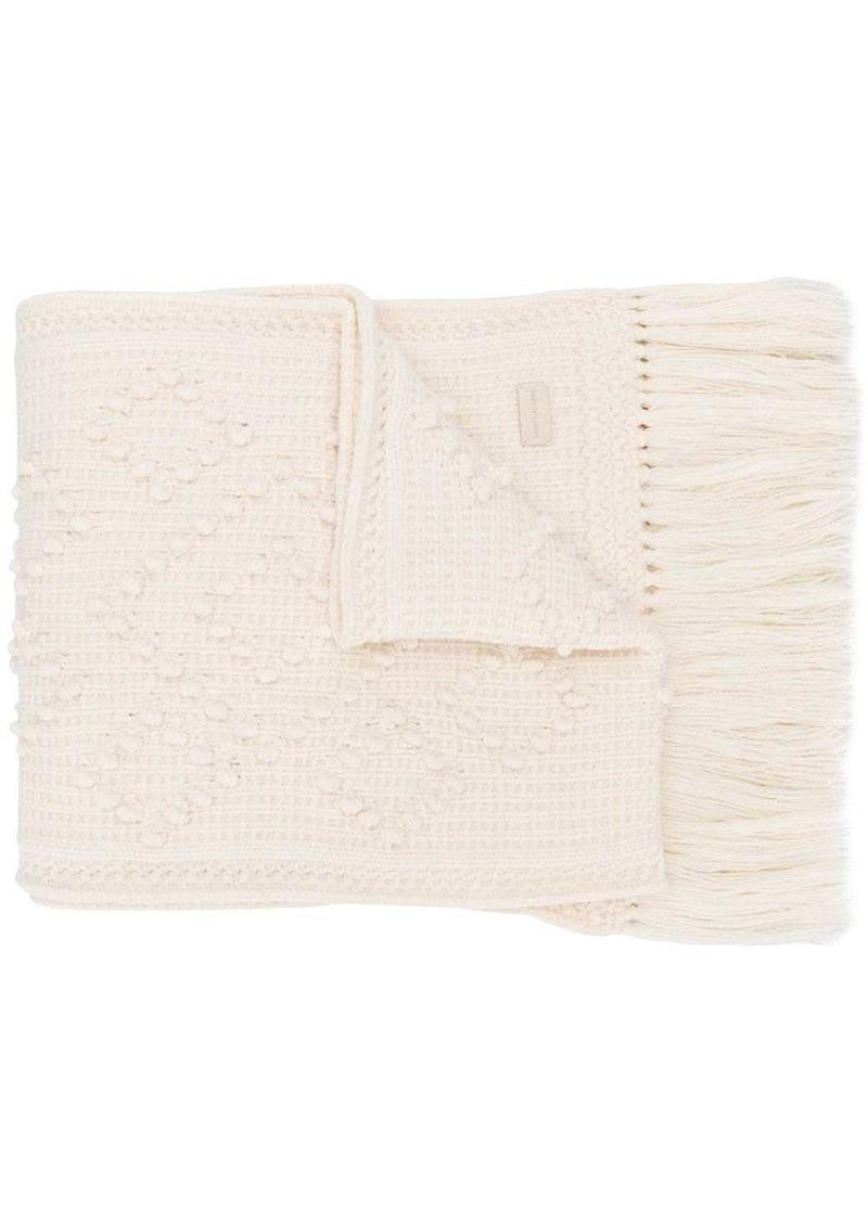 Saint Laurent Tricot scarf