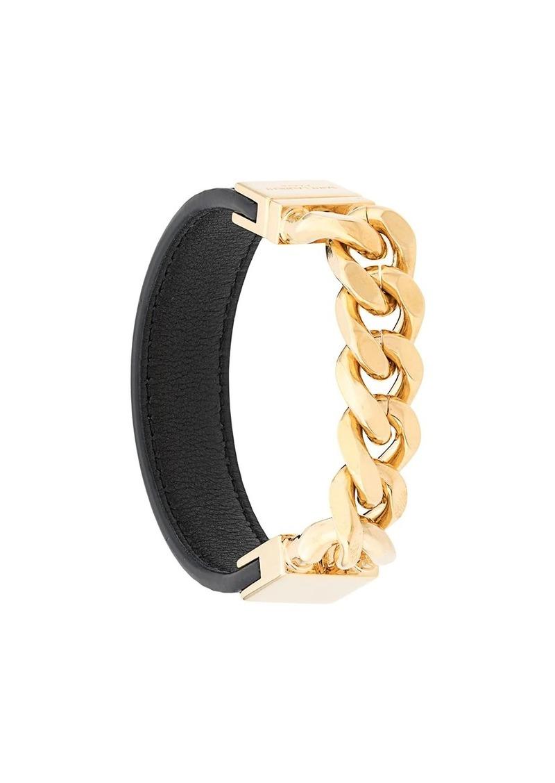 Saint Laurent Vicky curb chain bracelet