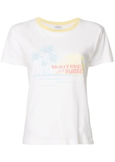 Saint Laurent Waiting For Sunset T-shirt