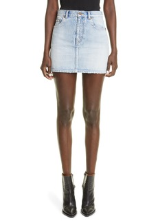 Women's Saint Laurent Classic Denim Skirt
