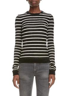 Women's Saint Laurent Stripe Sweater