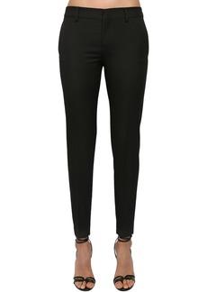 Saint Laurent Wool Gabardine Classic Pants