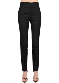 Saint Laurent Wool Gabardine Pants
