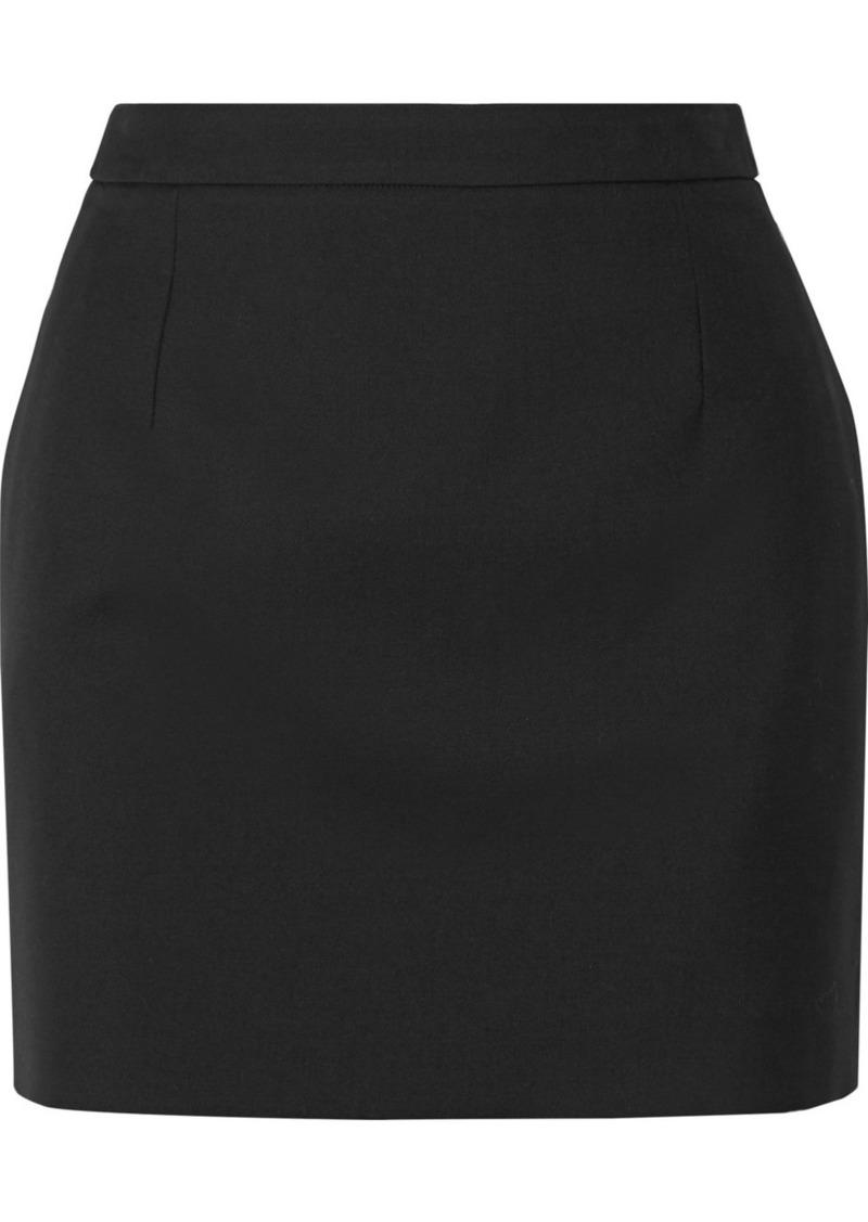 Saint Laurent Wool Mini Skirt