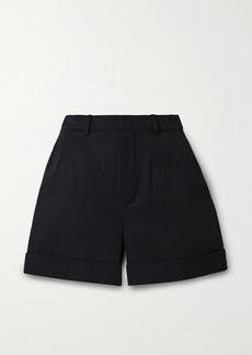 Saint Laurent Wool-twill Shorts