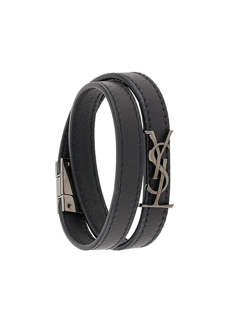 Saint Laurent YSL monogram bracelet
