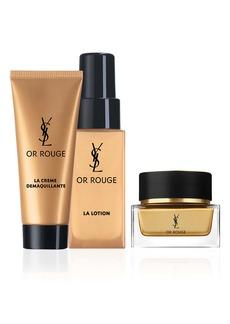 Yves Saint Laurent Or Rouge Travel Size Essentials Set (USD $250 Value)