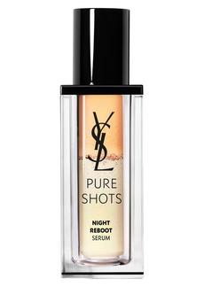 Yves Saint Laurent Pure Shots Night Reboot Resurfacing Serum