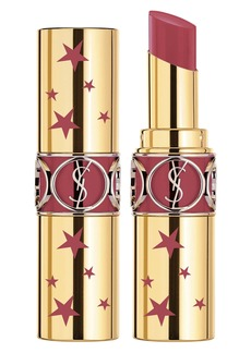 Yves Saint Laurent Star Collector's Rouge Volupte Shine Lipstick (Limited Edition)