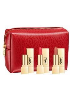 Yves Saint Laurent Travel Size Rouge Pur Couture Lipstick Trio (Nordstrom Exclusive) (USD $62 Value)