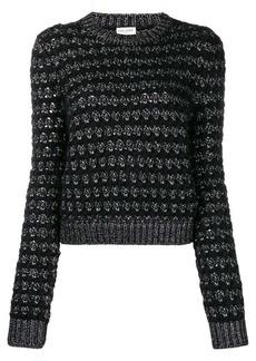 Saint Laurent zigzag knit jumper