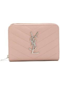 Saint Laurent zipped compartment wallet