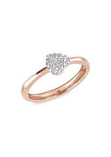 Saks Fifth Avenue 14K Rose Gold Diamond Ring