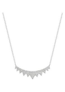 Saks Fifth Avenue 14K White Gold & Diamond Necklace