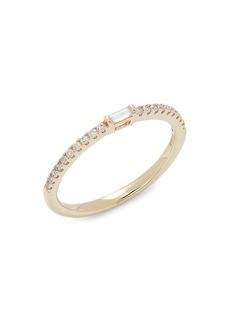 Saks Fifth Avenue 14K Yellow Gold & Diamond Wedding Band