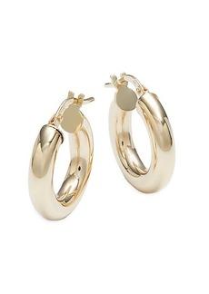 Saks Fifth Avenue 14K Yellow Gold Hoop Earrings