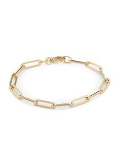 Saks Fifth Avenue 14K Yellow Gold Oval-Link Bracelet