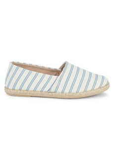 Saks Fifth Avenue Amberes Striped Espadrilles