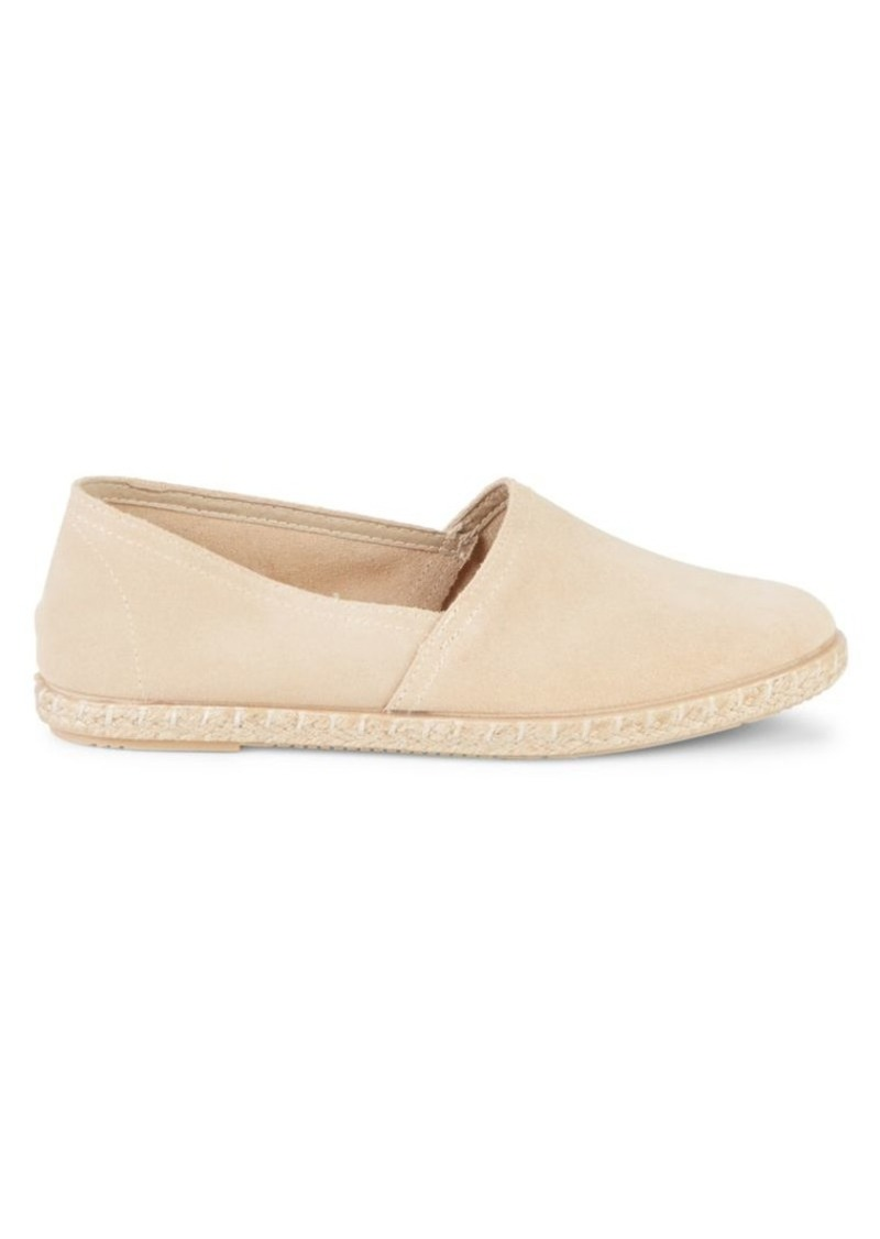 Saks Fifth Avenue Amberes Suede Espadrille Flats