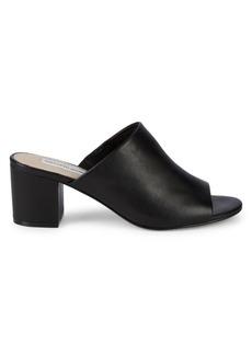 Saks Fifth Avenue Aurora Leather Block Heel Sandals