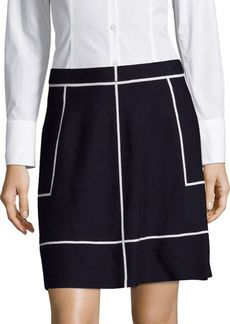 Saks Fifth Avenue Banded-Waist Skirt