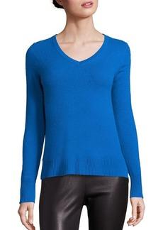 Saks Fifth Avenue Basic Cashmere V-Neck Sweater