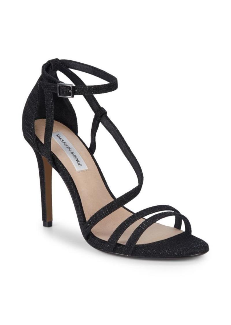 Saks Fifth Avenue Bianca Ankle-Strap Sandals