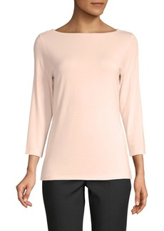 Saks Fifth Avenue Boatneck Tee