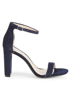 Saks Fifth Avenue Brooke Suede Ankle-Strap Sandals