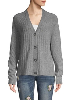 Saks Fifth Avenue Button-Front Cashmere Cardigan