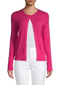Saks Fifth Avenue Buttoned Cashmere Cardigan