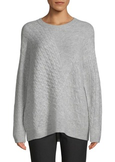 Saks Fifth Avenue Cable-Knit Sweater