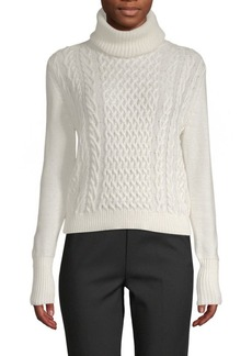 Saks Fifth Avenue Cable Knit Turtleneck Sweater