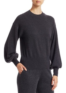 Saks Fifth Avenue COLLECTION Cashmere Blouson Sleeve Sweater