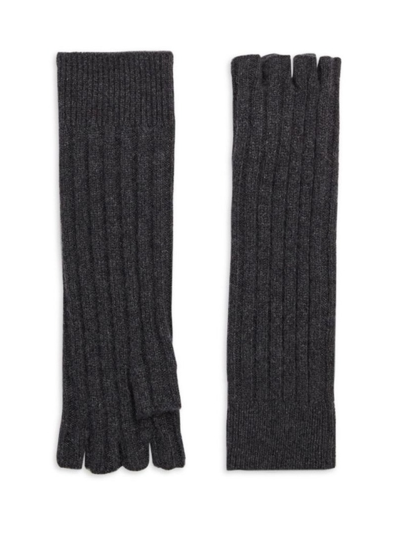 Saks Fifth Avenue COLLECTION Cashmere Fingerless Gloves