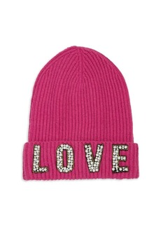 Saks Fifth Avenue Cashmere Love Hat