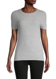 Saks Fifth Avenue Cashmere Short-Sleeve Sweater