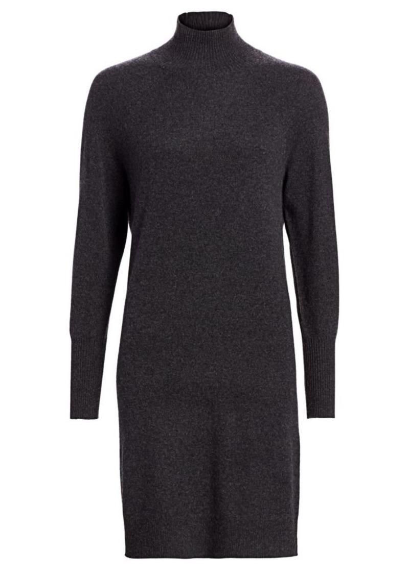 Saks Fifth Avenue Cashmere Turtleneck Sweater Dress