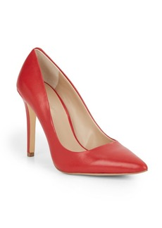 Saks Fifth Avenue Cathy Leather Pumps